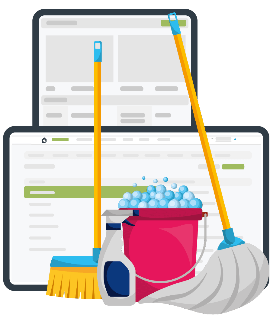 Professional Cleaning Reports