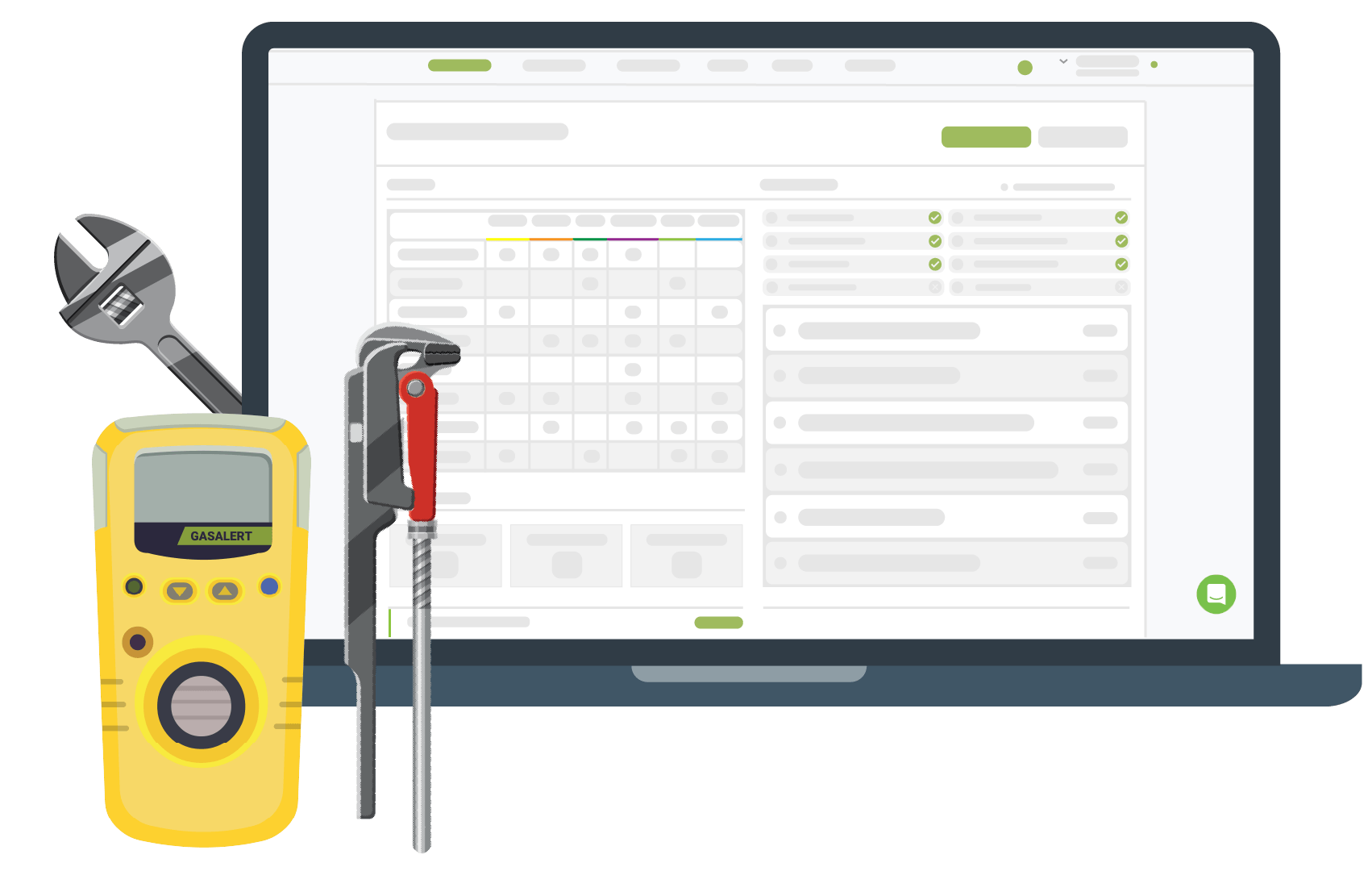 Track & Manage Gas Inspections