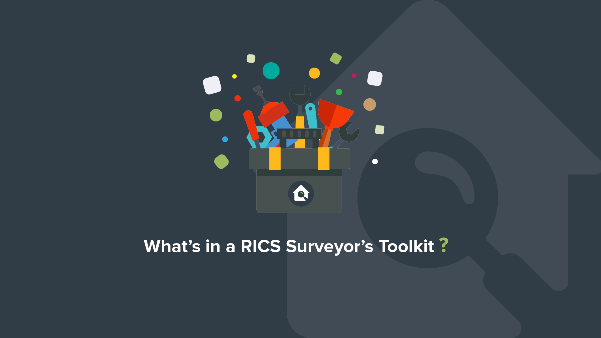 What's in a RICS Surveyor's Toolkit?